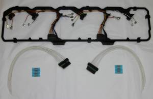 Engine Gaskets & Seals - Valve Cover Gaskets - AVP - AVP Valve Cover Gasket & Harness Kit, Dodge (2006-17) 5.9L & 6.7L Cummins