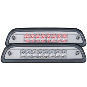 Lighting - Brake Lights - Anzo - Anzo LED 3rd Brake Light, Toyota (2016-18) Tacoma (Chrome Housing/ Clear Lens)