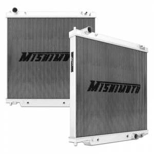 Engine Parts - Coolant System Parts - Mishimoto - Mishimoto Aluminum Radiator, Ford (1999-03) 7.3L Power Stroke F-250/F-350/F-450/F-550