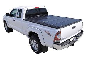 Bed/Tonneau Covers - Vinyl Folding Tonneau Covers - Bak Industries - Bakflip G2 Hard Folding Tonneau Cover, Toyota (2016-18) Tacoma (6 FT Bed, With Deck Rail System)