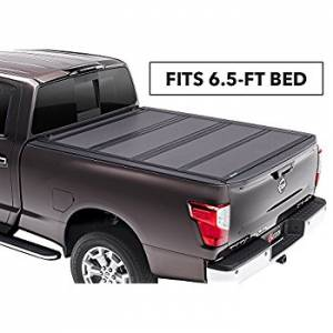 Bed/Tonneau Covers - Vinyl Folding Tonneau Covers - Bak Industries - Bakflip G2 Hard Folding Tonneau Cover, Nissan (2016-18) Titan XD (6.5 FT Bed)