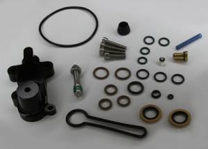 "AVP - AVP Adjustable Fuel Pressure Regulator ""Blue Spring"" Upgrade Kit, Ford (2003-07) 6.0L Power Stroke (Black Housing) - Image 2"