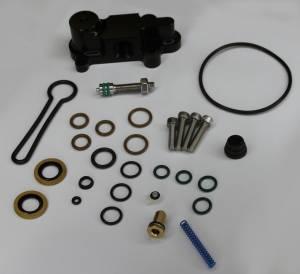 "AVP - AVP Adjustable Fuel Pressure Regulator ""Blue Spring"" Upgrade Kit, Ford (2003-07) 6.0L Power Stroke (Black Housing) - Image 3"
