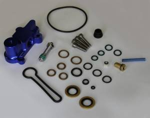 "AVP - AVP Adjustable Fuel Pressure Regulator ""Blue Spring"" Upgrade Kit, Ford (2003-07) 6.0L Power Stroke (Blue Housing) - Image 2"