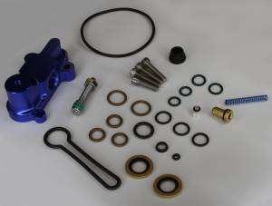 "AVP - AVP Adjustable Fuel Pressure Regulator ""Blue Spring"" Upgrade Kit, Ford (2003-07) 6.0L Power Stroke (Blue Housing) - Image 3"
