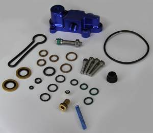 "AVP - AVP Adjustable Fuel Pressure Regulator ""Blue Spring"" Upgrade Kit, Ford (2003-07) 6.0L Power Stroke (Blue Housing) - Image 4"