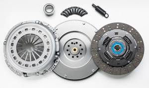 Transmission - Clutches/Clutch Parts - South Bend Clutch - South Bend Clutch Kit, Ford (1999-03) 7.3L F-250/350/450/550 6-Speed, Stock Replacement W/ Flywheel