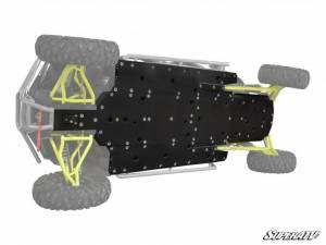 Exterior Accessories - Armor & Protection - SuperATV - Polaris RZR 4 Turbo Full Skid Plate