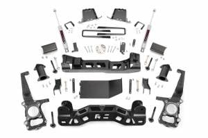 Rough Country - Rough Country Lift Kit, Ford (2011-13) F-150 4x4, 6""