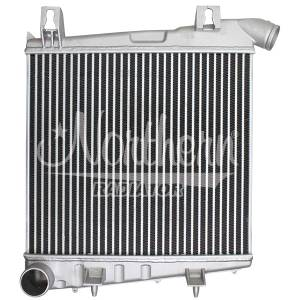 Engine Parts - Coolant System Parts - Northern  - Northern Aluminum Intercooler, Ford (2008-10) 6.4L Power Stroke F-250/F-350/F-450/F-550