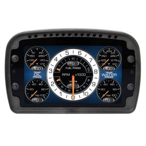 Gauges - Digital Screen Gauges - Autometer - Auto Meter LCD Competition Dash