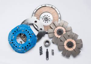 Holiday Super Savings Sale! - South Bend Clutch Sale Items - South Bend Clutch - South Bend Competition Dual Disk Clutch Kit, Ford (1994-98) 7.3L F-250/350/450/550 5-Speed, 850hp & 1400 ft lbs of torque