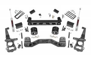 "Steering/Suspension Parts - 4"" Lift Kits - Rough Country - Rough Country 4"" Suspension Lift Kit, Ford (2015-18) F-150 (2WD)"