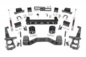 "Steering/Suspension Parts - 5"" Lift Kits - Rough Country - Rough Country 5"" Suspension Lift Kit, Ford (2015-18) F-150 (2WD)"