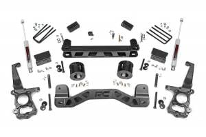 "Steering/Suspension Parts - 4"" Lift Kits - Rough Country - Rough Country 6"" Suspension Lift Kit, Ford (2015-18) F-150 (2WD)"