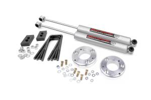 "Steering/Suspension Parts - Leveling Kits - Rough Country - Rough Country 2"" Leveling Kit, Ford (2015-20) F-150"