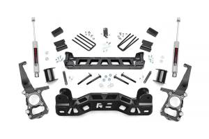 "Steering/Suspension Parts - 4"" Lift Kits - Rough Country - Rough Country 4"" Suspension Lift Kit, Ford (2009-14) F-150 (2WD)"