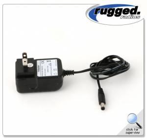 Rugged Radios - Rugged Radios 110 Volt Wall Adapter for RH5R Charging Cradle.