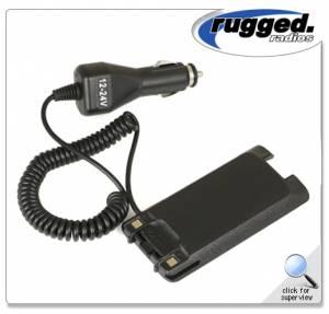 Rugged Radios - Rugged Radios Battery Eliminator For RH5X-V2 Handheld Radio