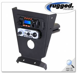 Rugged Radios - Rugged Radios Intercom & RM-25R Radio Mount For Can-Am X3
