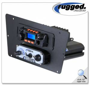 Rugged Radios - Rugged Radios 25 Watt Mobile Radio & Intercom Mount