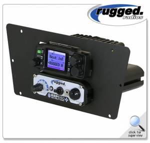 Rugged Radios - Rugged Radios Intercom & RM25R-WP Waterproof Radio Mount for Yamaha YXZ