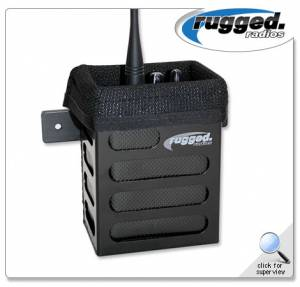 Rugged Radios - Rugged Radios Alloy Handheld Radio Mounting Box