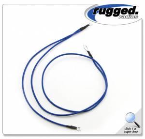 Rugged Radios - Rugged Radios Ground Cable for Intercom and RM60-V Mobile Radio