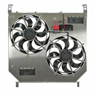 Flex-a-lite - Flex-A-Lite Aluminum Radiator and Fan Kit, Ford (2003-07) 6.0L Powerstoke F-250/F-350/F-450/F-550