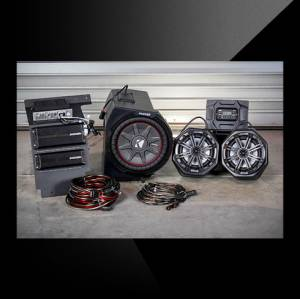 UTV Radios/Audio - Audio Systems - Kicker - Kicker Phase 3 Speaker System Polaris General 2016-2018