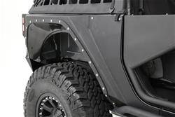 Smittybilt - Smittybilt XRC Armor Rear Corner Guard Kit, Jeep (2007-18) JK Wrangler, 4 Door