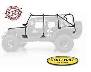 Exterior Accessories - Armor & Protection - Smittybilt - Smittybilt XRC Exoskeleton, Jeep (2007-18) JK Wrangler, 4 Door