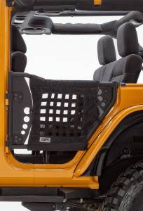 Jeep Tops & Doors - Jeep Doors - Body Armor 4x4 - Body Armor 4x4 Tube Door Kit, Jeep (2007-17) JK Wrangler, Rear Pair