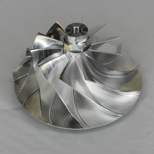 AVP - AVP Boost Master Quick Spool Billet Compressor Wheel, Chevy/GMC (2006-07) 6.6L LBZ Duramax (11 Blade)
