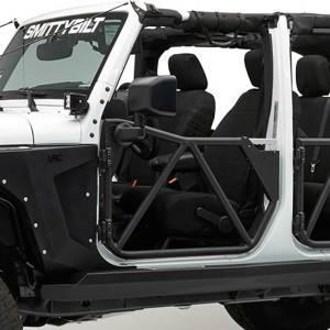 Smittybilt - Smittybilt SRC Gen2 Front Tube Doors, Jeep (2007-18) JK Wrangler