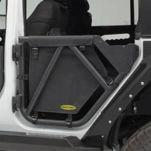 Jeep Tops & Doors - Jeep Doors - Smittybilt - Smittybilt SRC Gen2 Rear Tube Doors, Jeep (2007-18) JK Wrangler