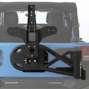 Smittybilt - Smittybilt XRC Gen2 Tire Carrier, Jeep (2007-18) JK Wrangler