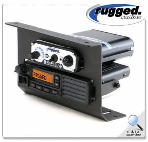 Rugged Radios - Rugged Radios Motorola and Vertex VX2200 Mobile Radio & Intercom Mount for Polaris RZR XP1000
