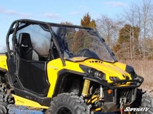 SuperATV - Can-Am Commander Scratch Resistant Full Windshield