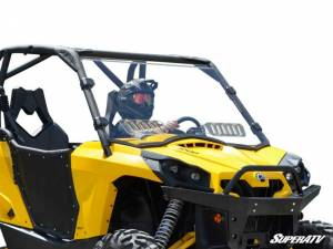 SuperATV - Can-Am Commander Scratch Resistant Vented Full Windshield