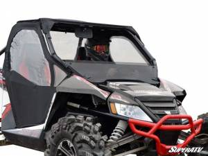 SuperATV - Arctic Cat Wildcat Half Windshield (Standard Polycarbonate) - Dark Tint