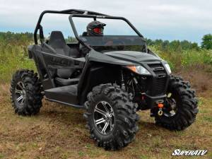 SuperATV - Arctic Cat Wildcat Trail Half Windshield (Standard Polycarbonate) - Dark Tint