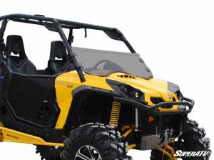 SuperATV - Can-Am Commander Half Windshield (Standard Polycarbonate) - Dark Tint