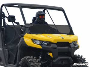SuperATV - Can-Am Defender Half Windshield (Standard Polycarbonate)- Dark Tint