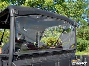SuperATV - Can-Am Defender Rear Windshield (Standard Polycarbonate) - Light Tint