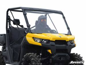 SuperATV - Can-Am Defender Scratch Resistant Full Windshield