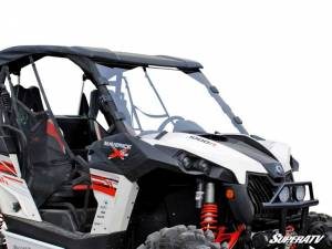 SuperATV - Can-Am Maverick Scratch Resistant Full Windshield
