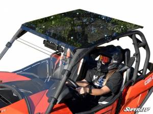 SuperATV - Can-Am Maverick Tinted Roof