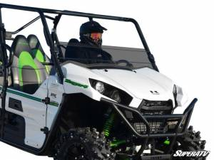 UTV Windshield - Half Windshields - SuperATV - Kawasaki Teryx 750 / 800 Scratch Resistant Half Windshield (Standard Polycarbonate) Dark Tint (2016+)