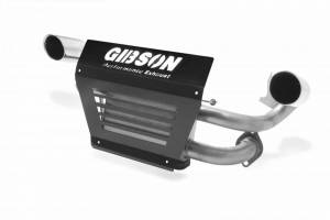 Gibson Performance - Gibson UTV Exhaust, Polaris (2015-17) RZR, Dual Exhaust, Stainless, Non Turbo Model